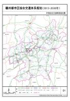 赣州都市区综合交通体系规划2012-2030