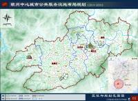 《赣州中心城市公共服务设施布局规划(2014-2030)》(公示稿)-区位与规划范围图