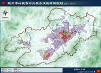 《赣州中心城市公共服务设施布局规划(2014-2030)》(公示稿)--社区划分图