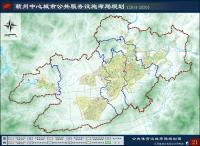 《赣州中心城市公共服务设施布局规划(2014-2030)》(公示稿)公共体育设施布局规划图