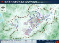 《赣州中心城市公共服务设施布局规划(2014-2030)》(公示稿)-社会福利设施布局规划图