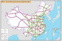 综合运输大通道和综合交通枢纽示意图(高清大图)