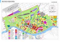 赣州市凤岗片区控制性详细规划-土地使用规划图
