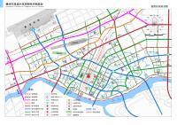 赣州市凤岗片区控制性详细规划-道路系统规划图