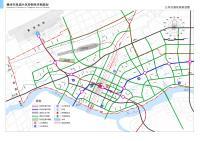 赣州市凤岗片区控制性详细规划-公共交通系统规划图