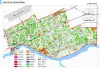 赣州市凤岗片区控制性详细规划-土地使用现状图