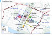 赣州市凤岗片区控制性详细规划-核心枢纽交通设施布局规划图