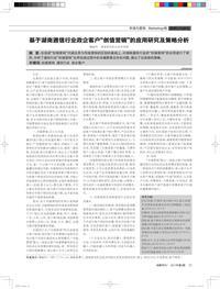 """基于湖南通信行业政企客户""""创值营销""""的应用研究及策略分析"""