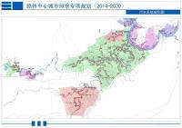 赣州中心城市污水系统规划图