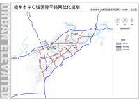 赣州市中心城区近期(2020)快速路网规划图(公示日期:2017-05-19)
