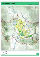 兴国县居住用地及人口分区图