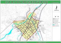 全南县大吉山镇控制性详细规划 13镇区道路竖向规划图