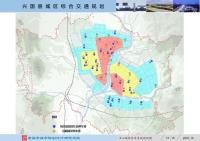 《兴国县城区综合交通规划》规划图 中心城区停车系统规划图